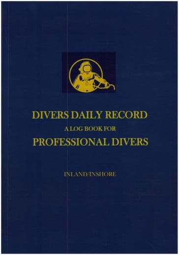 PDC 10 BOOK LOGBOOK DIVING COMMERCIAL