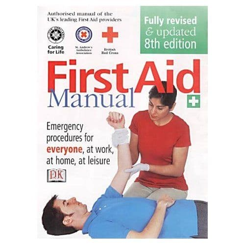 PDC 70 BOOK FIRST AID MANUAL, ST JOHNS/RED CROSS/AMBULANCE