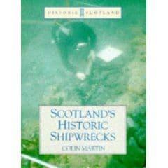 PDC 70 BOOK SCOTLAND'S HISTORIC SHIPWRECKS