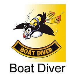 PDC COURSE BOAT DIVER