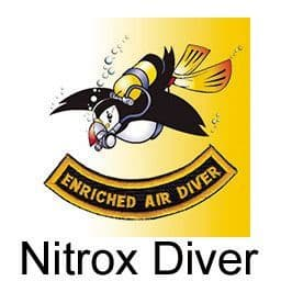 PDC COURSE ENRICHED AIR DIVER