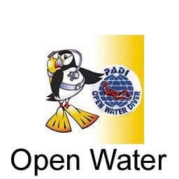 PDC COURSE OPEN WATER DIVER