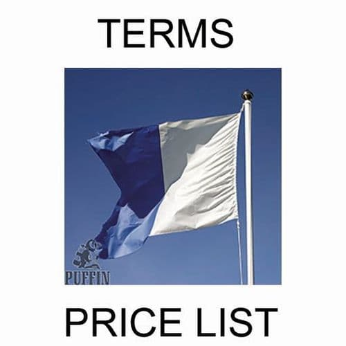Price List & Terms