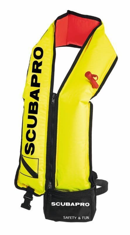 SCUBAPRO ACCESSORY - COMBINATION SAFETY BUOY & SWIMMING AID