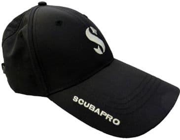 SCUBAPRO FASHION BASEBALL CAP - BLACK