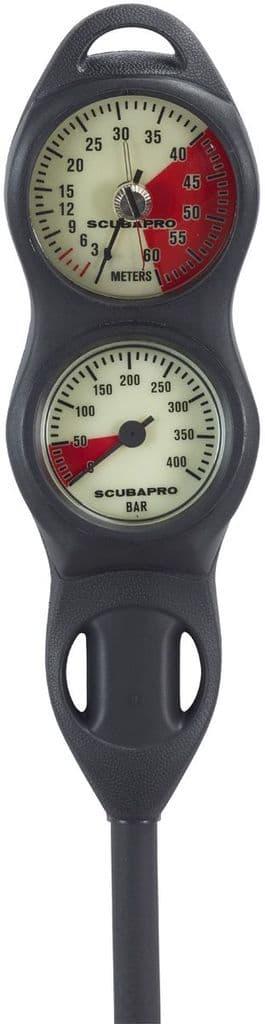 SCUBAPRO INSTRUMENT SPG 2-IN-LINE - Pressure Guage / Depth Guage