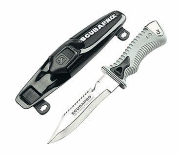 SCUBAPRO KNIFE K6 - BLACK - 15cm BLADE