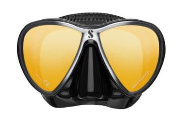 SCUBAPRO MASK -SYNERGY TWIN  - MIRRORED LENS