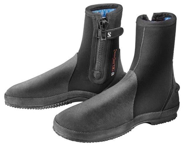 SCUBAPRO WETSUIT BOOTS - DELTA BOOT 6.5 - BLACK