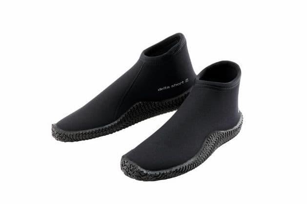 SCUBAPRO WETSUIT BOOTS - DELTA SHORT BOOT 3.0 - BLACK