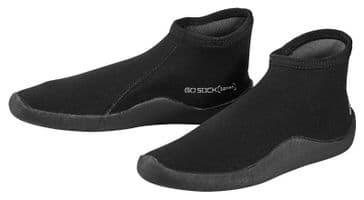 SCUBAPRO WETSUIT BOOTS - GO SOCK 3.0 - THIN SOLE - BLACK