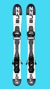 Buzz Atom Max Noir/Blanc 99cms snow blade Ski with TYROLIA Release Binding  BACK IN STOCK