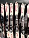 USED Rossignol FREE ZB 118cms Ski blade mini ski inc Full Release bindings EX Rental - USED