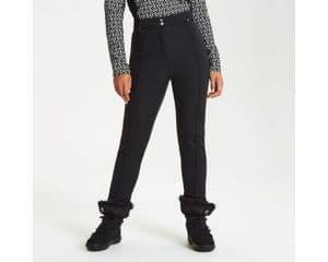 Womens DARE2B SLENDER BLACK High Skinny Stretch Winter Trousers Pants Sizes 14-20 REG