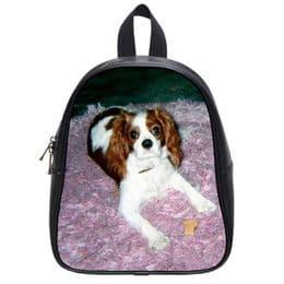 Childrens Personalised Leather School bag | Backpack | Rucksack