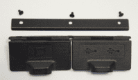 Panasonic Toughbook CF-52 VGA & x2 USB Port Cover / Door P/N: DFGX0497 - Used