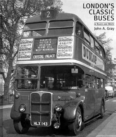 London's Classic Buses in Black & White