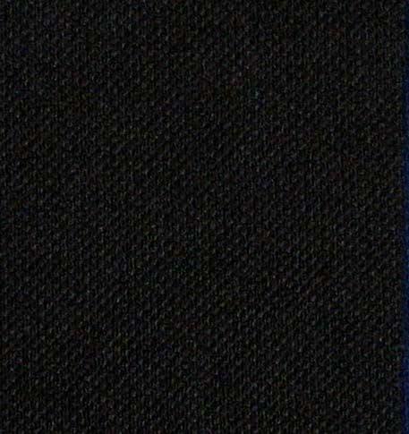 1452 - Heavyweight polyester, BLACK