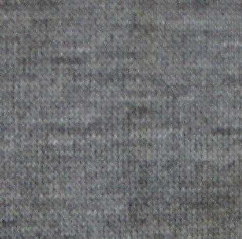 50% Recycled Yarn - Cotton Rich Sweatshirting - 6535 SMOKE (charcoal grey marl)
