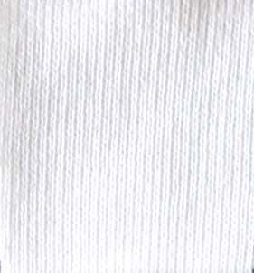 50% Recycled Yarn - Cotton Rich Sweatshirting - 6535   White