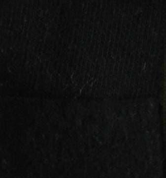 8332 -Black 100% Cotton  Loopback Sweatshirting, NEW PRICE