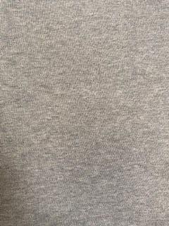 8332 - Grey Marl 100% Cotton Loopback Sweatshirting