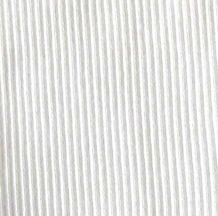 9385 -  Cotton/Elastane 2 x 2 Rib, WHITE