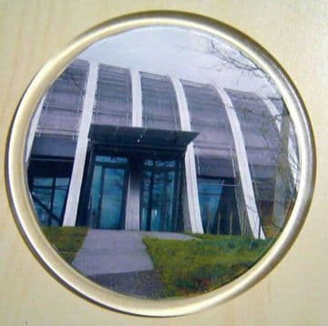 10 Blank Round Clear Plastic Coasters 90 mm Diameter Insert G1503